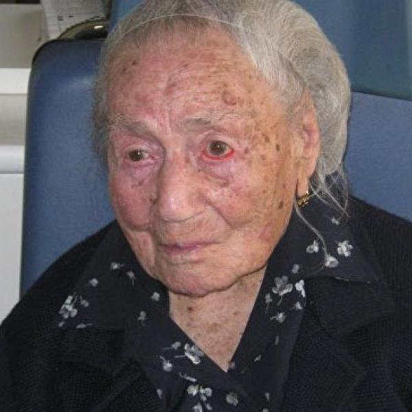 В Италии умерла старейшая женщина Европы