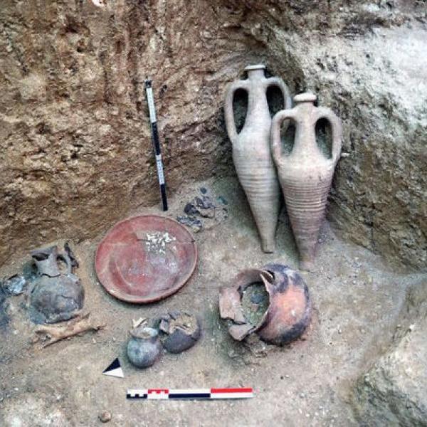 Нетронутый могильник скифов найден в Крыму